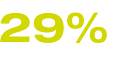 29% Search for new suppliers and business partners