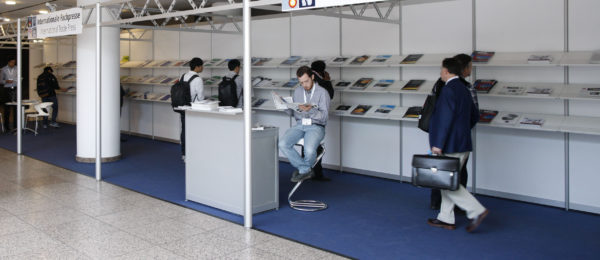 Photo: International press stand