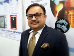 Piyush I. Tamboli, Managing Director, Investment & Precision Castings LTD, Bhavnagar Gujarat, India